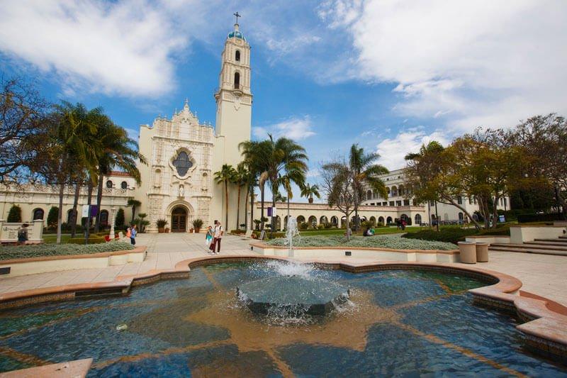 Immaculata fountain 1