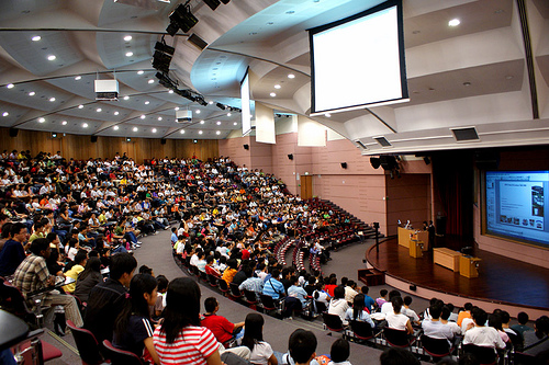 large lecture hall