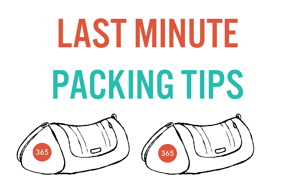 Last minute packing tips summer camp