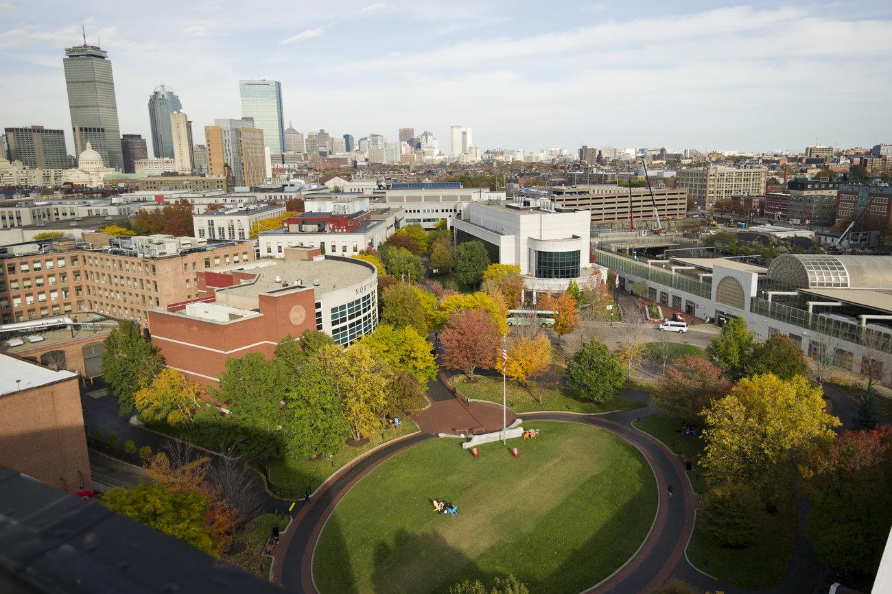 northeastern university campus. neu campus. northeastern university campus