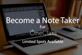 Become a Notetaker at TCU