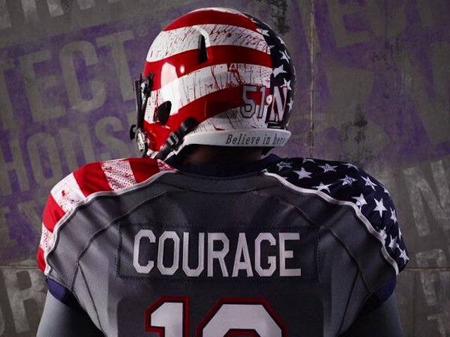Check out these Must-See Northwestern University Football Team Jerseys (Blood Splatter included)