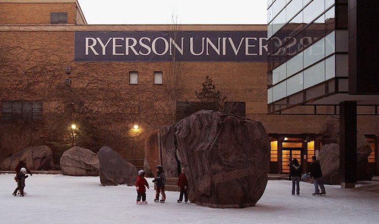 Ryerson univ entrance