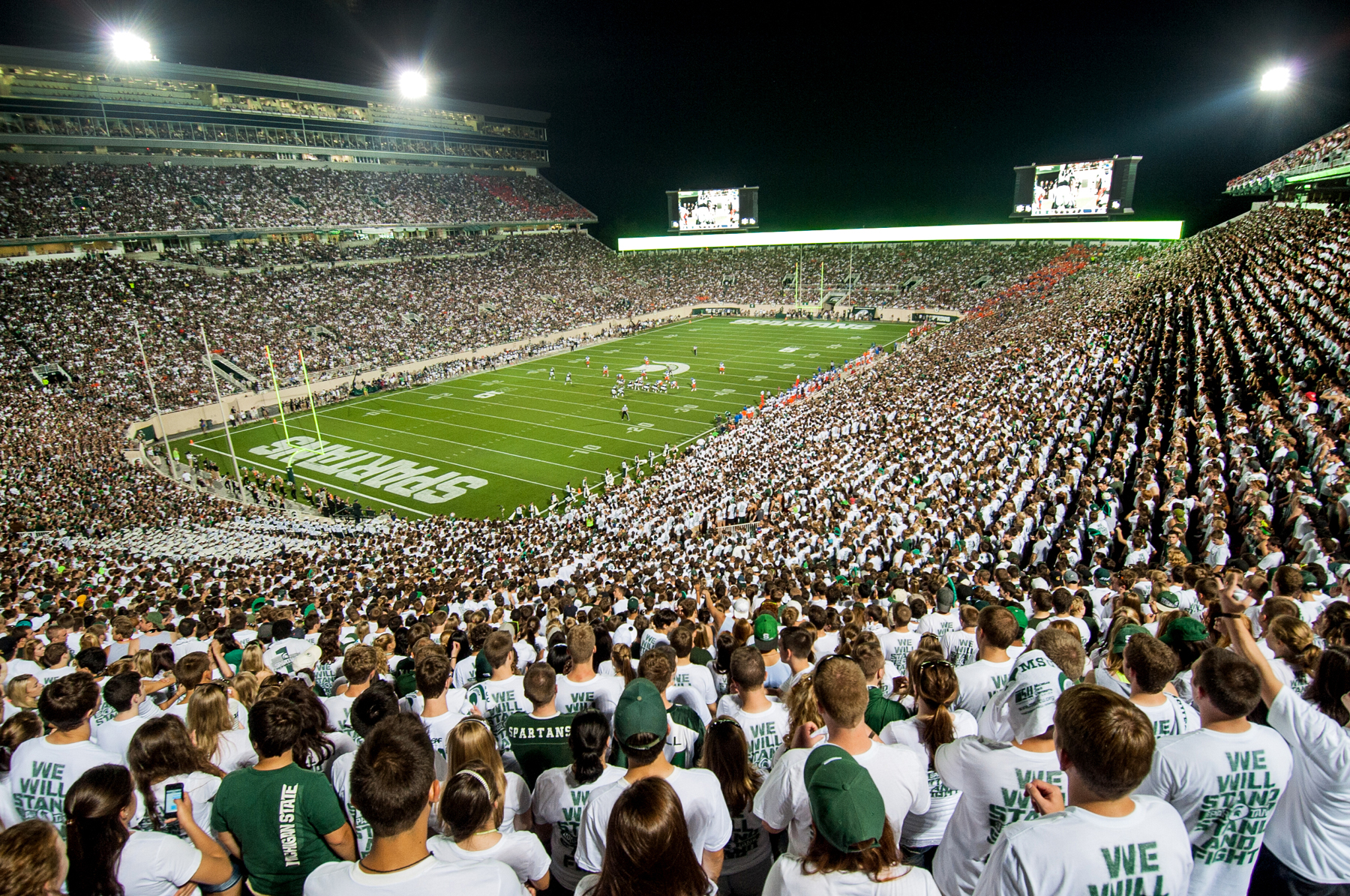 Spartan stadium new