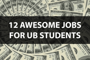 12 Awesome Jobs for UBuffalo Students