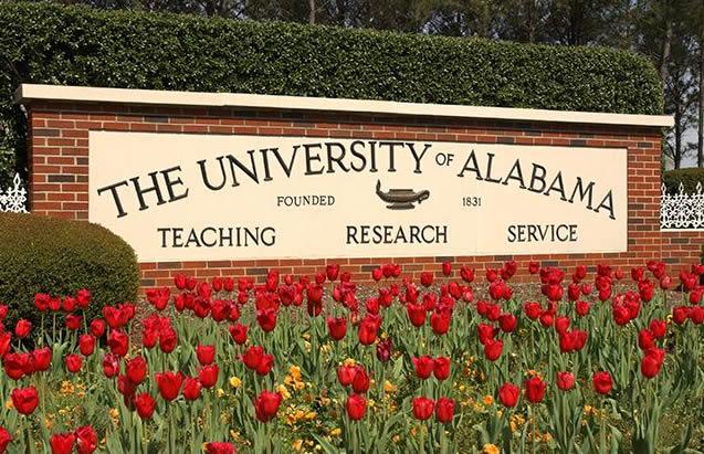 University of alabama 1