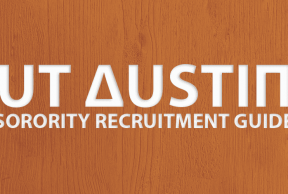 Tips to Survive UT Austin Sorority Rush Week