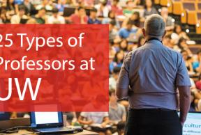 25 Types of Professors at UW Madison