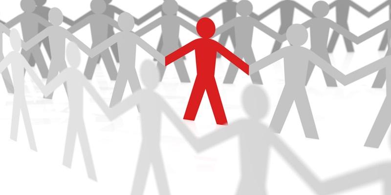 Minority stick people