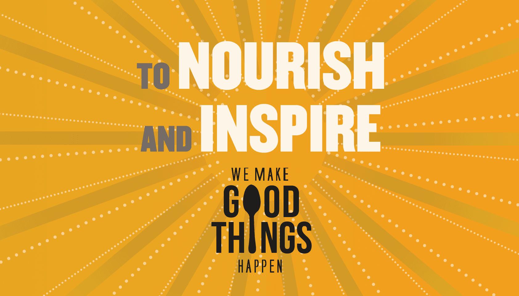 Nourish and inspire header