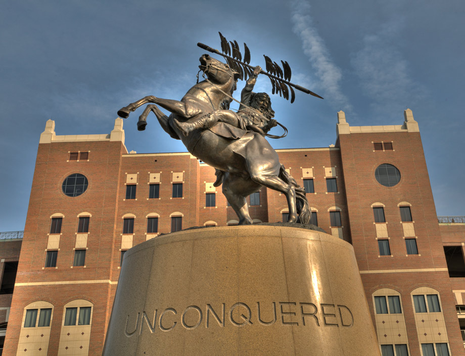 Unconquered statue fsu 2 920