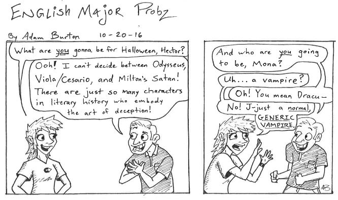 English major probz 5
