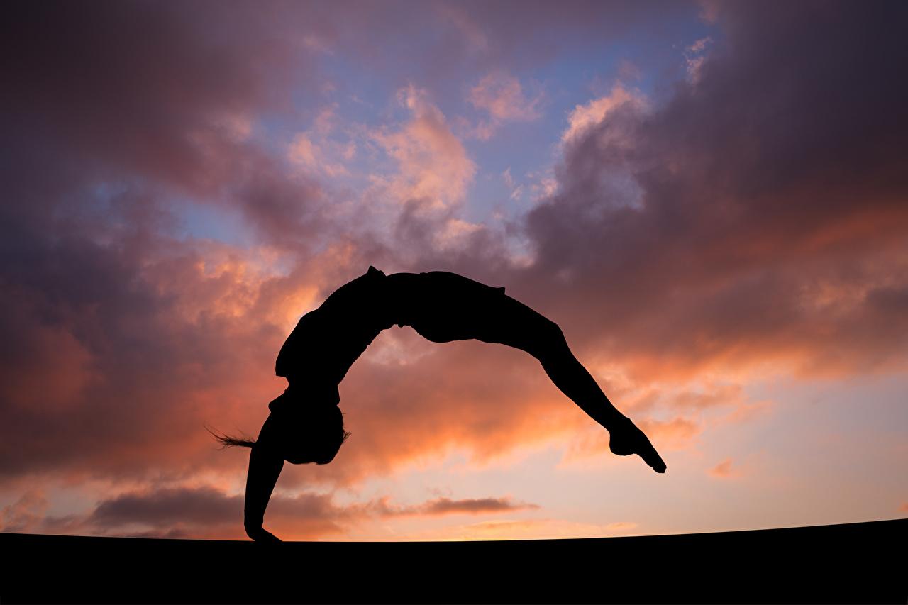 Gymnastics evening workout silhouette 529837 1280x853