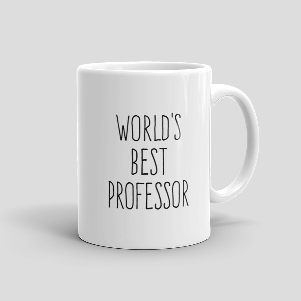 Mutative mugs worlds best professor mug white 11oz right view