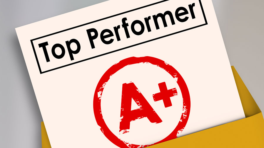 Top performer grade a