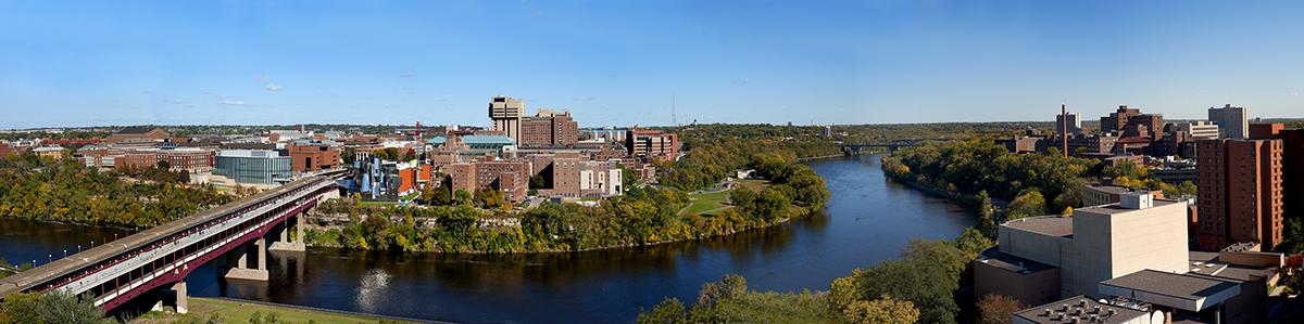 U campus panorama