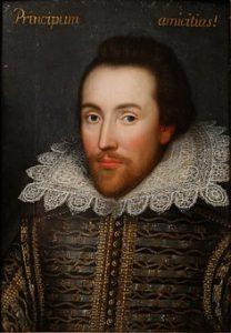 picture of william shakespeare