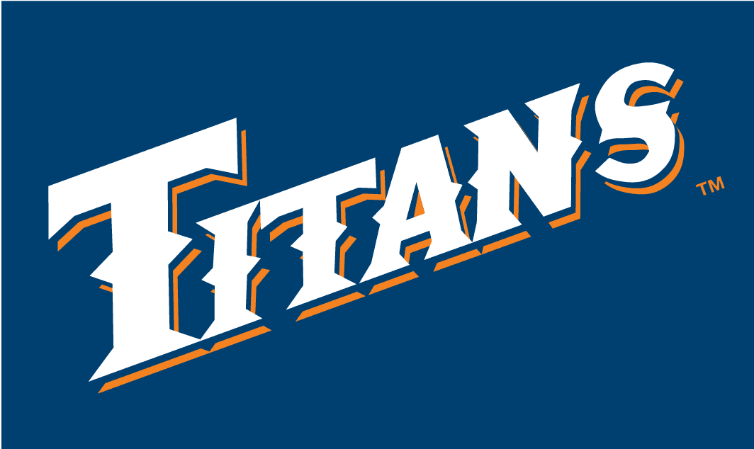 Cal state fullerton titans 1992 2009 wordmark logo diy decals stickers 1