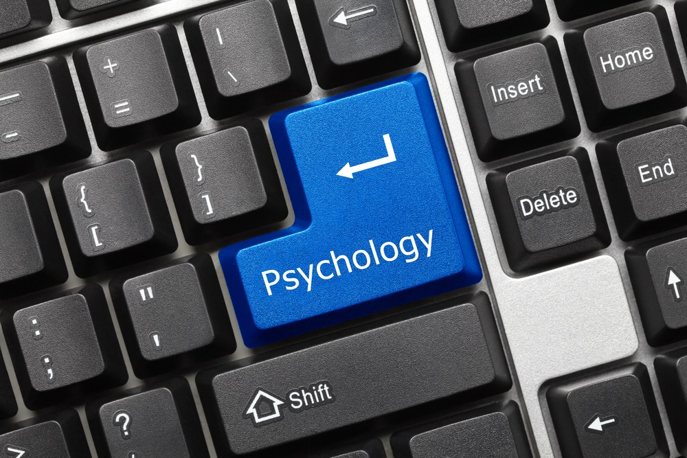 Computer keyboard psychology button