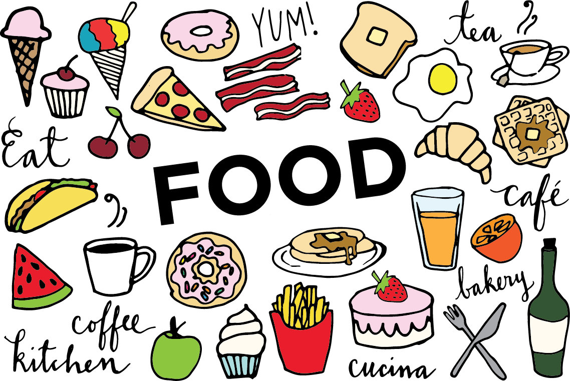 Free food clip art images clipart
