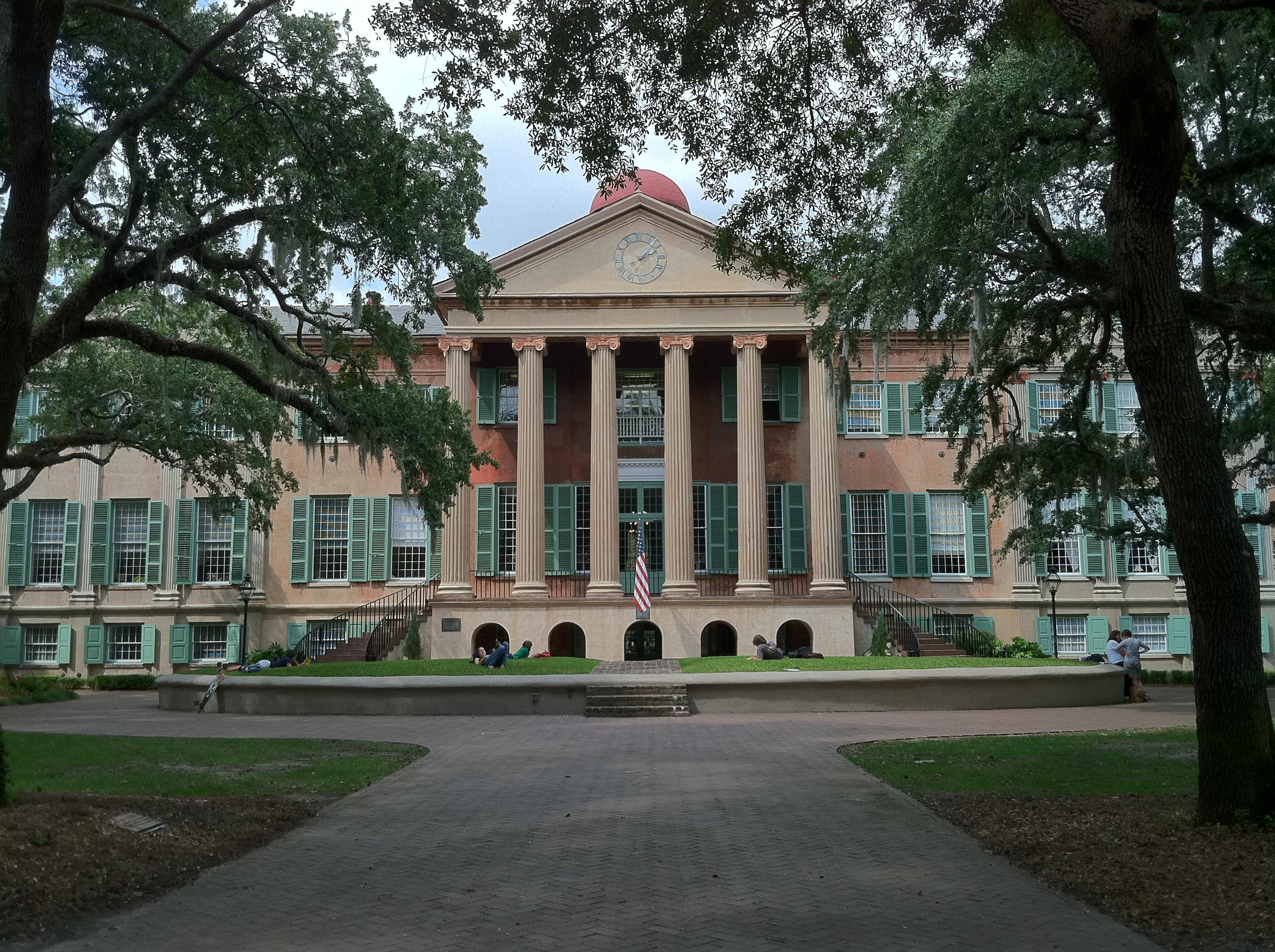 Randolph hall college of charleston