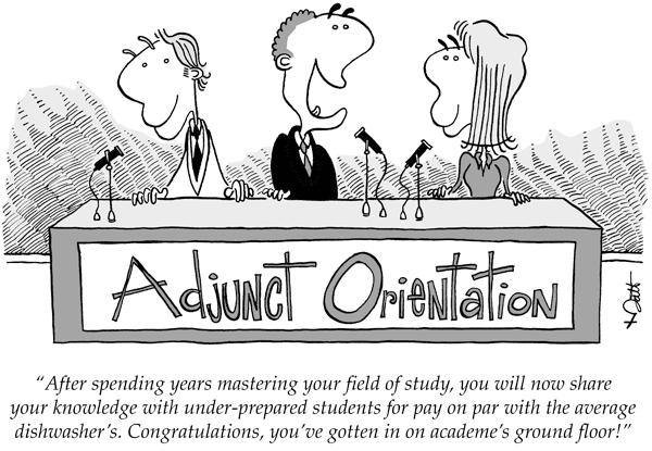 Adjunct orientation