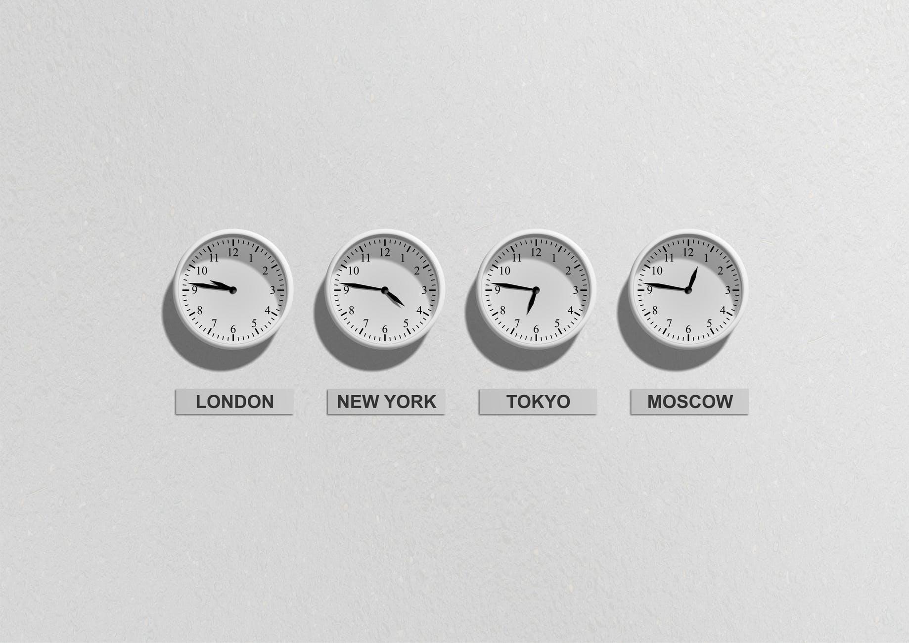 Business time clock clocks 48770