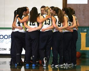 a photo of women's sport team signifying team dynamics