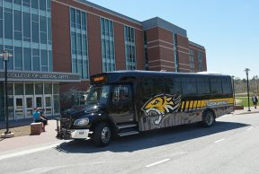 4 Different Routes/ Places The Shuttle Goes at Towson University