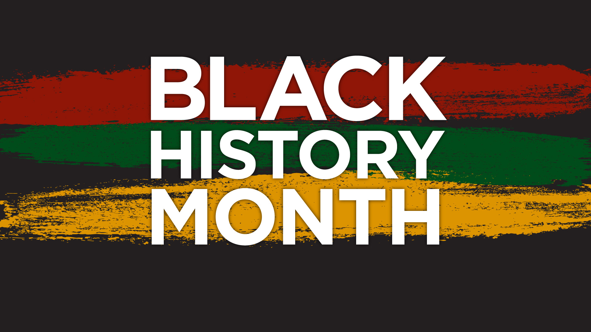 Black history month 2017 image