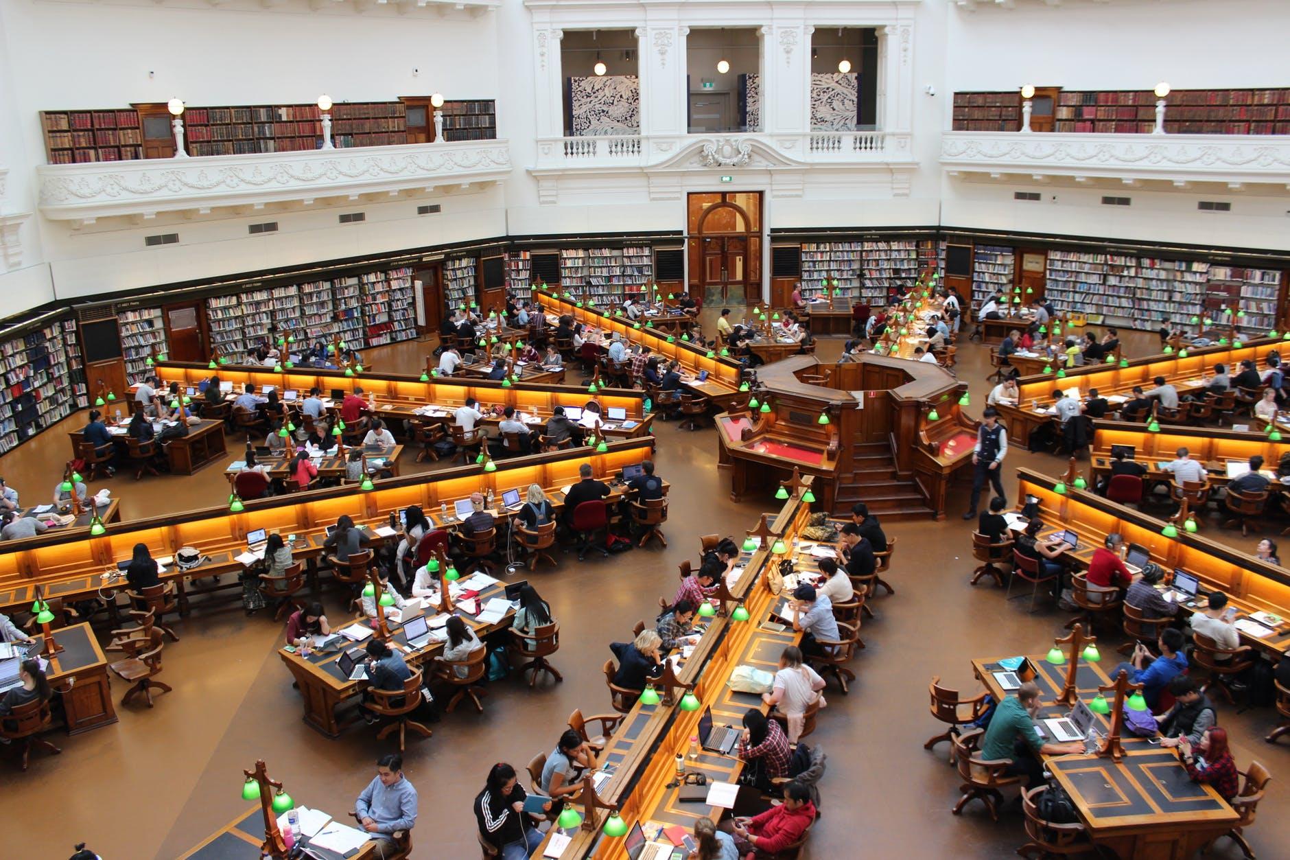 Library la trobe study students 159740