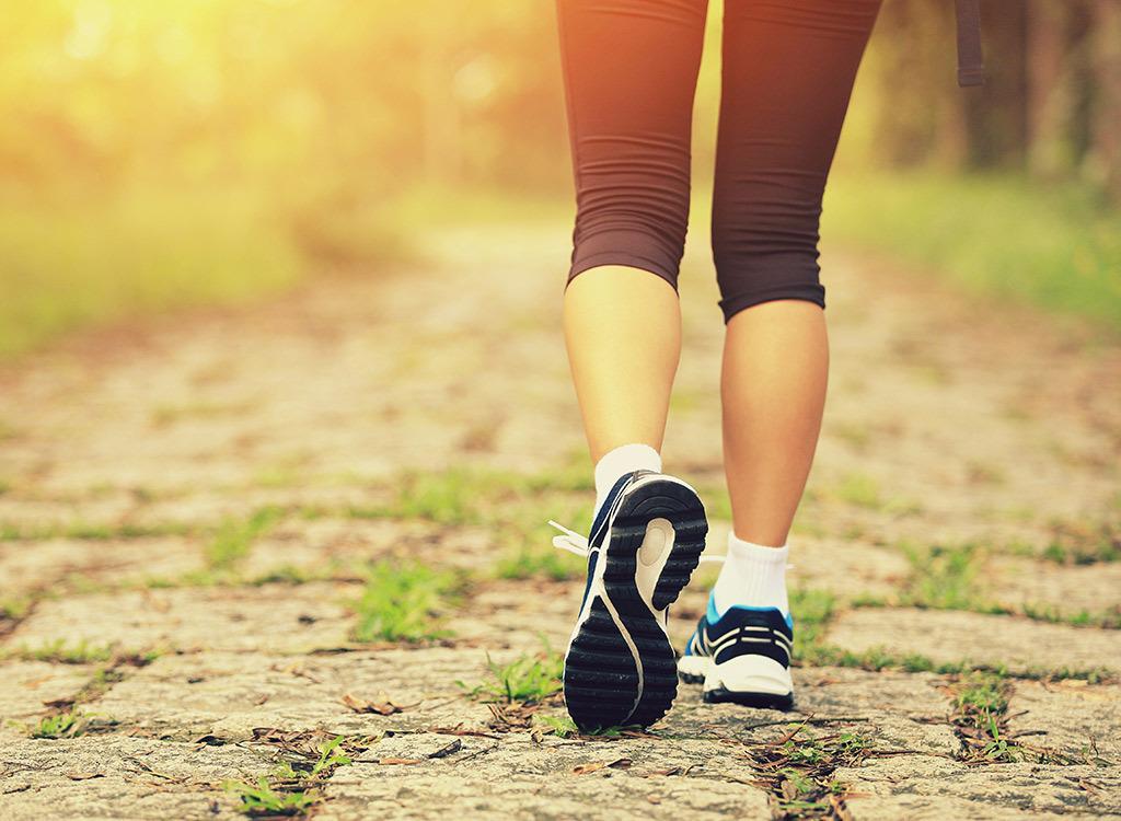 Morning walk longer life in 20 minutes