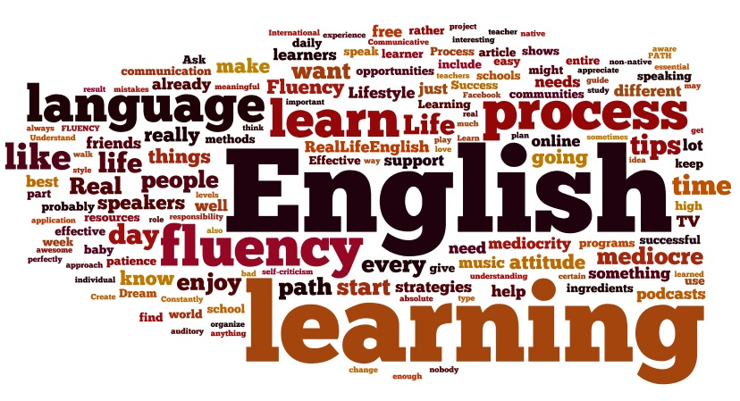 Terms relating to English