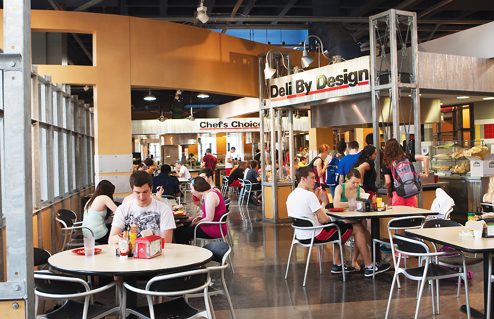University Of Cincinnati Classroom Design Guide ~ Delicious foods at uc s dining hall oneclass