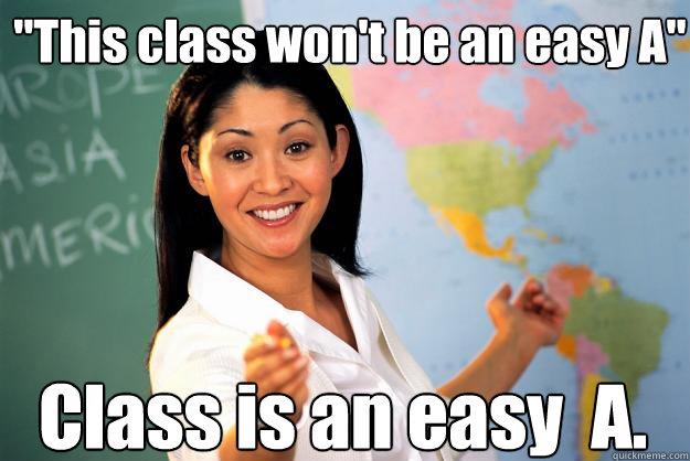 Easy Classes at CSUN