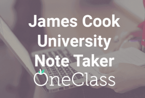 Become a James Cook University Note Taker