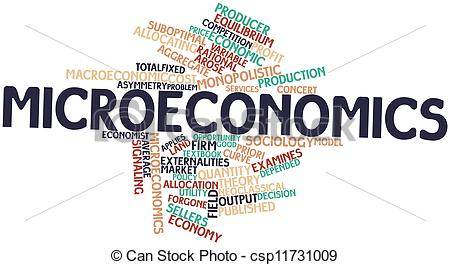 microeconomics-drawing_csp11731009