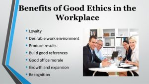 powerpoint on good workplace
