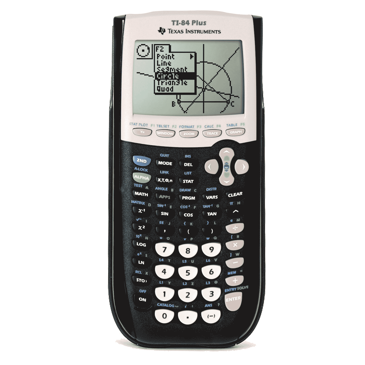 This is an image of a calculator that students will probably use in this course.