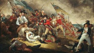 An imagedepicting the American Revolution