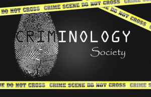 A fingerprint from a criminology lab
