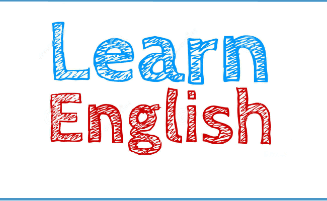 "a picture depicting the words ""learn english"""