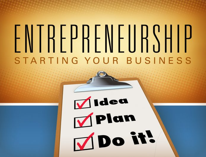 A checklist of starting a business