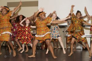 An image showing African dance