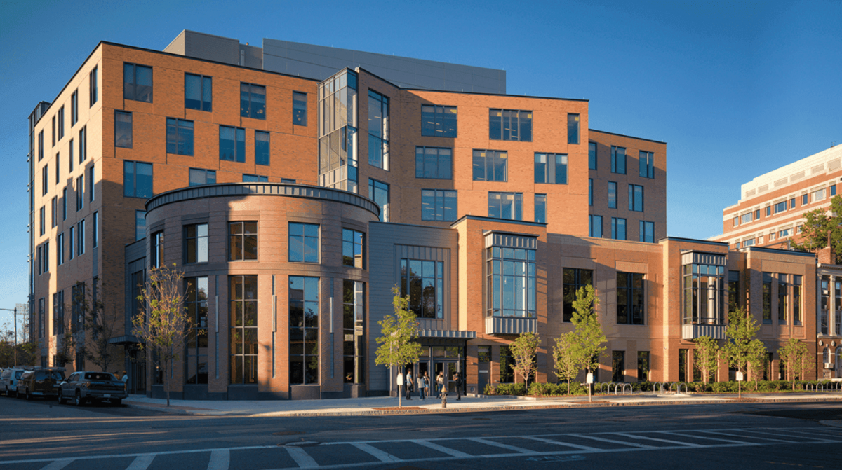 Image of student centre at Boston U