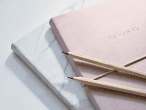 Journal to write compositions in.