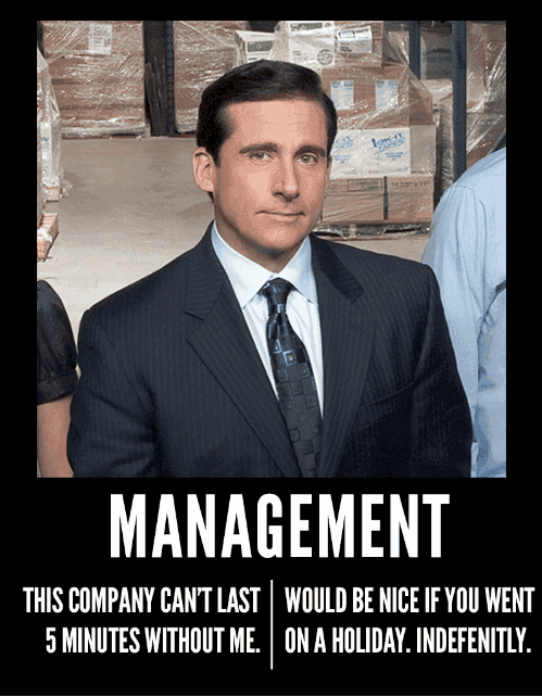 A meme of Michael Scott from The Office