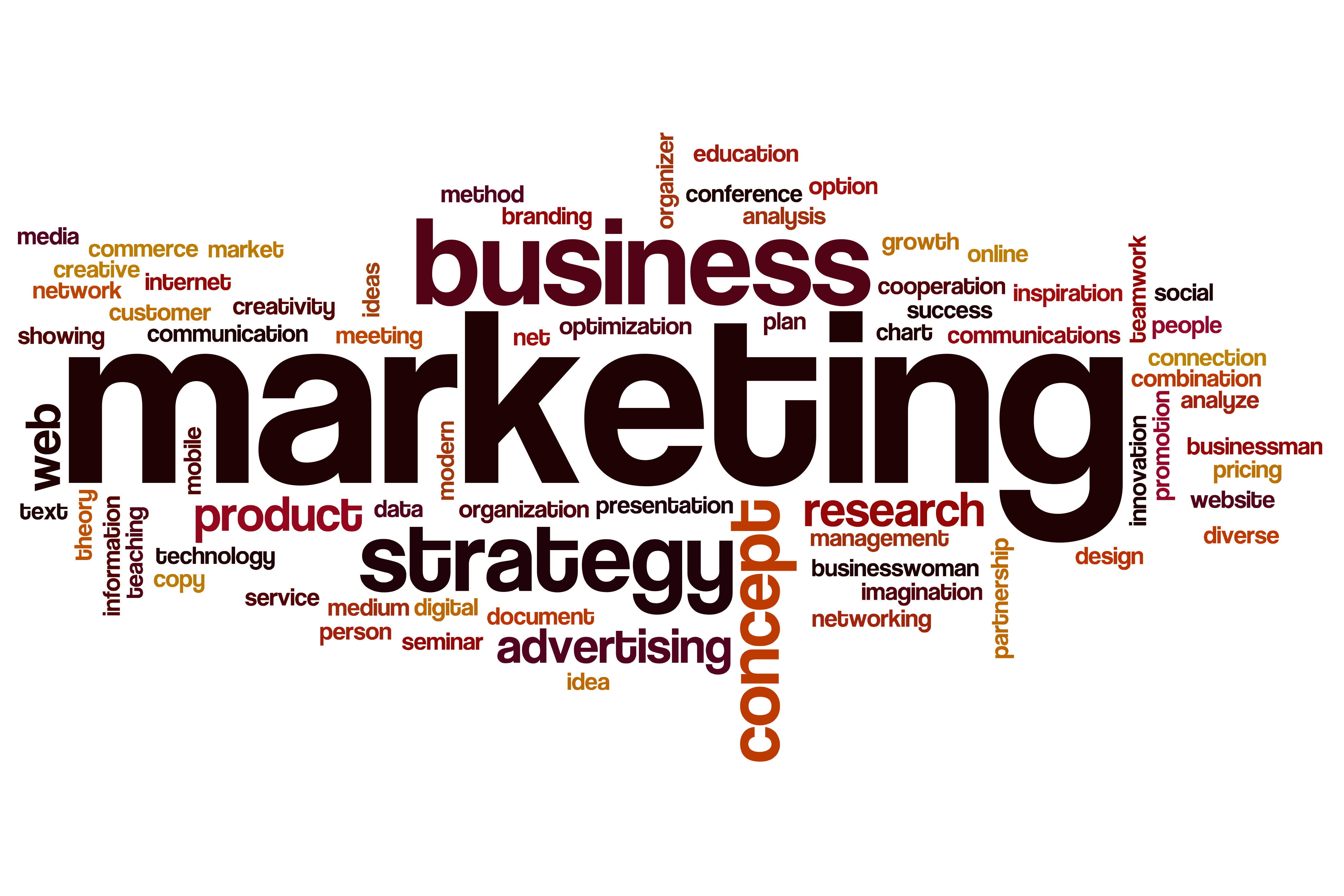 Terms relating to marketing