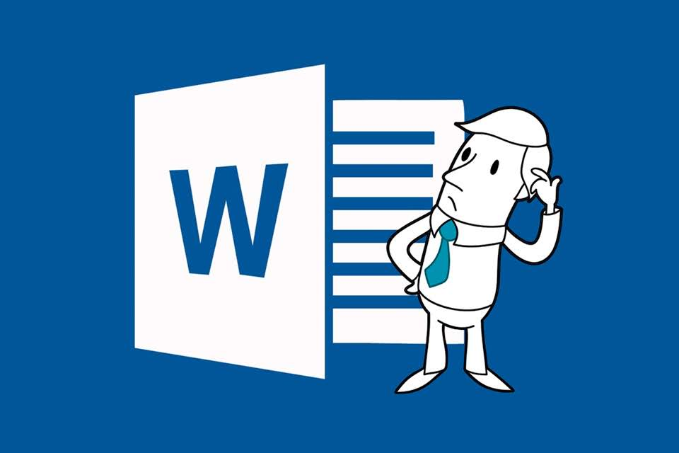 The icon for Microsoft Word