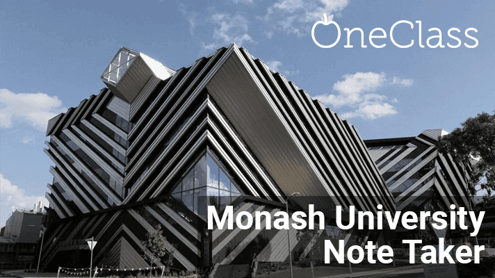 Become a Paid Monash Note Taker